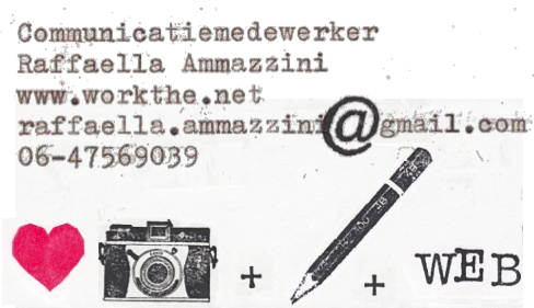Contact Work The Net Raffaella Ammazzini