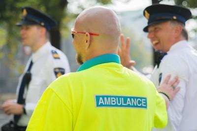 Ambulance/GHOR tijdens Prinsjesdag